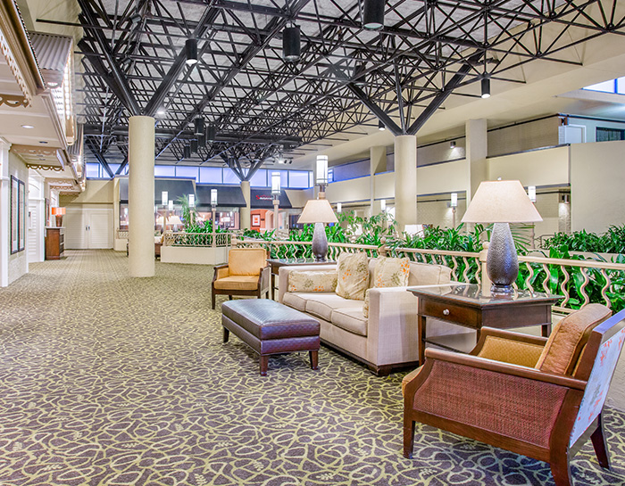 Florida Hotel Quiet Zone Floors in Crowne Plaza Jacksonville Airport