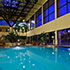 What time does the indoor/outdoor pool close and is it heated?