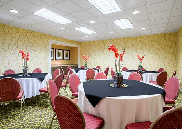 Unique Event Spaces of Crowne Plaza Jacksonville Airport Hotel