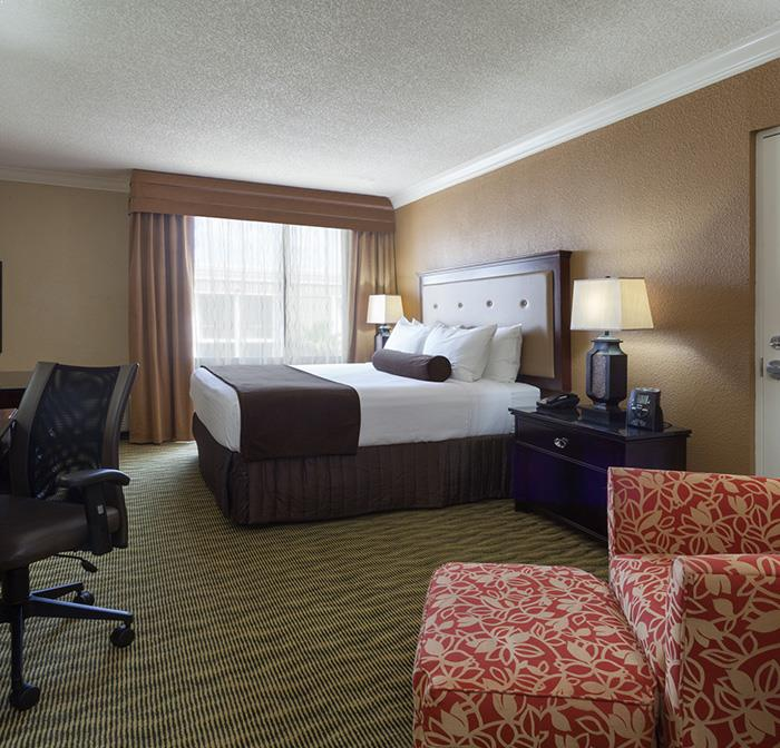 King Guest Room at Crowne Plaza Jacksonville Airport Hotel, Florida