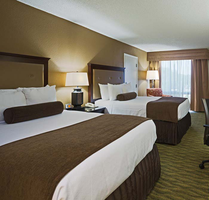 Standard Rooms of Crowne Plaza Jacksonville Airport Hotel, Florida