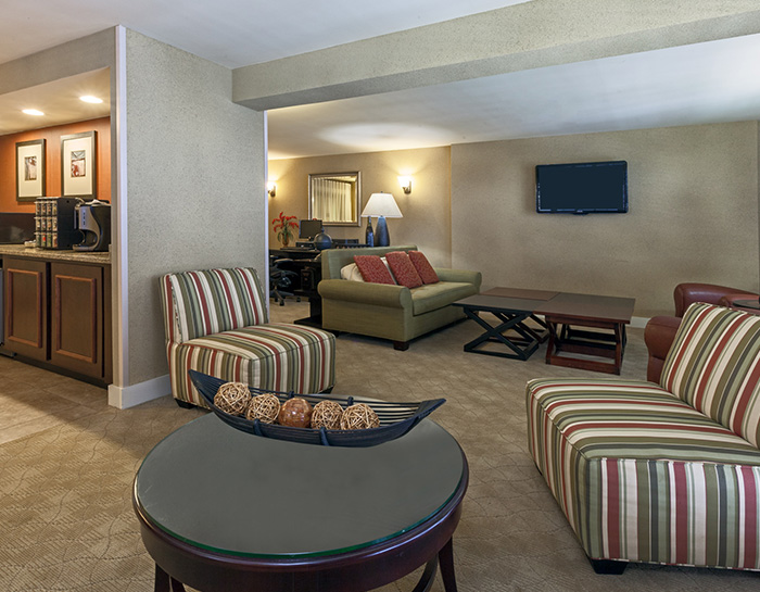 Executive Floor and Lounge at Crowne Plaza Jacksonville Airport Hotel, Florida